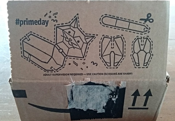 amazon packing box kids activity cutout
