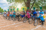 fun creative bike racing event botswana africa