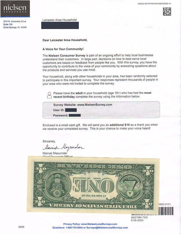 law of reciprocity example direct mail nielson
