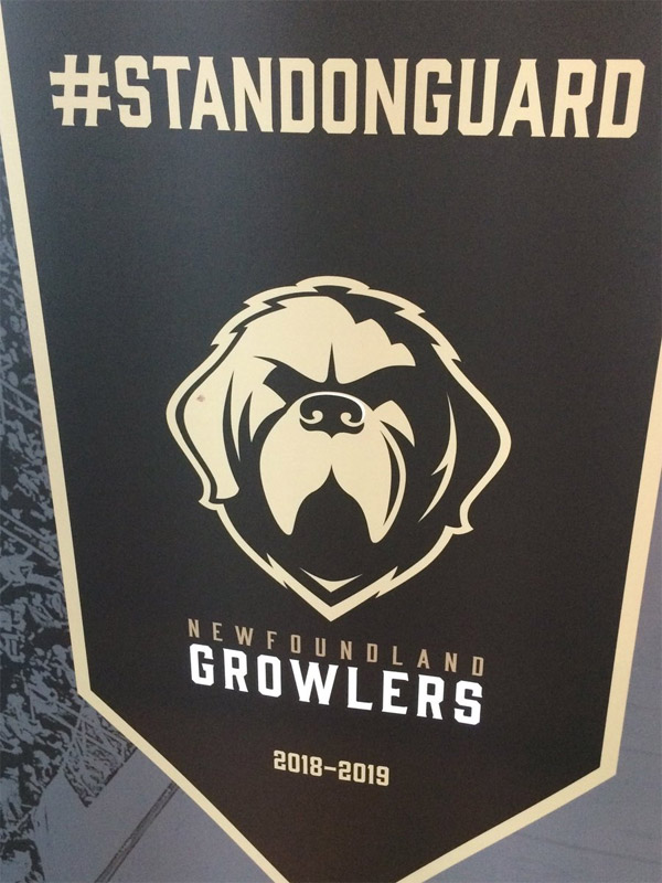newfoundland growlers hockey team logo