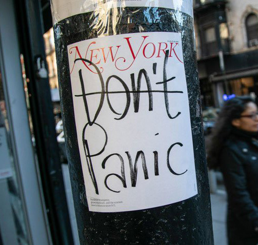 New York Magazine Panic cover