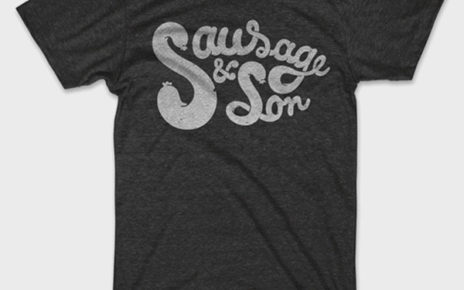 sausage and son t-shirt