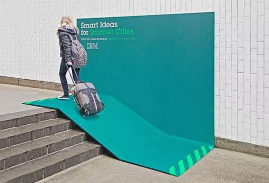 billboards that serve a purpose - IBM