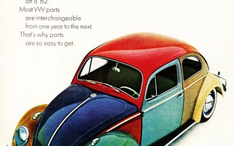 classic VW ads from the 1960s