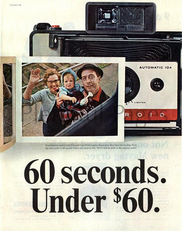 polaroid instant camera ad