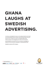 international rejudging of swedish advertising awards