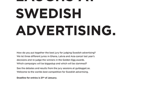 international rejudging of swedish advertising awards