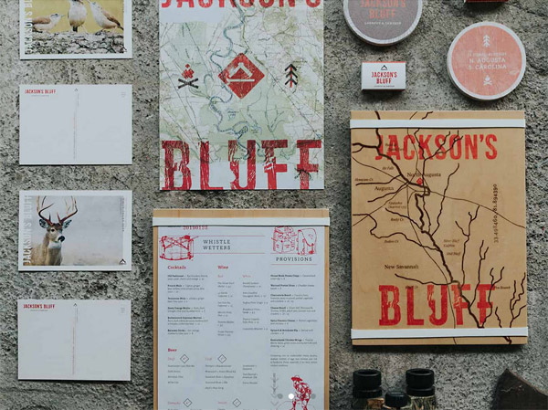 create business backstory jacksons bluff menu
