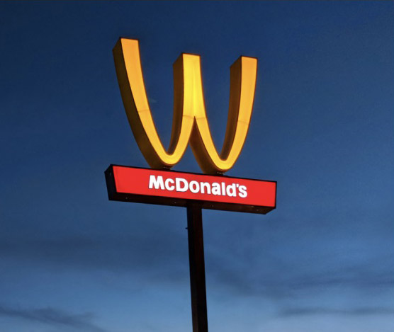 marketing tied to current events holidays - mcdonalds