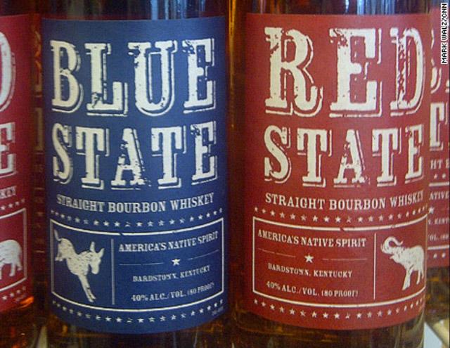 beer bottles capitalize on election news