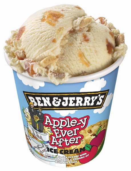 flavors based off current events - ben and jerrys