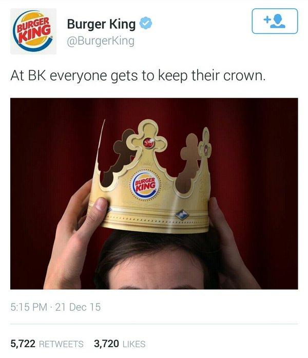 newsjacking example - burger king