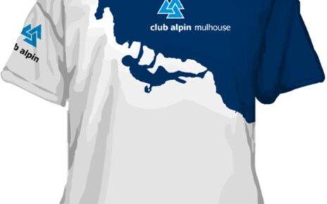 mountain climbing outdoors outfitter tshirt design