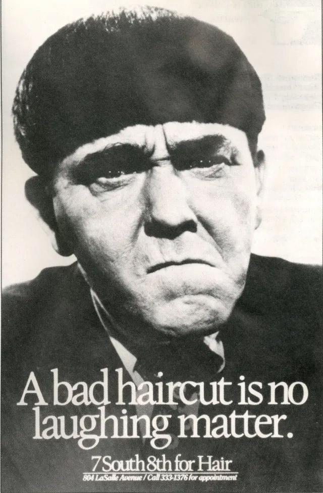bad haircut makes anyone look dumb - three stooges