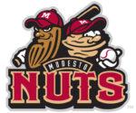 Modesto Nuts Minor League Baseball Team logo
